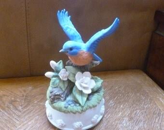 Bluebird music box Seymour Mann 1996