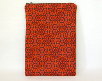 Celestial Tablet Case - Padded & Quilted with Zipper  - for any 7 inch tablet or e-reader - iPad mini, Galaxy Tab, Nexus 7, Kobo and Kindle