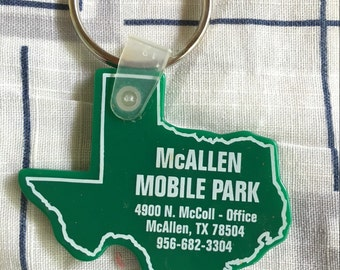 Texas Trailer Park Key Chain