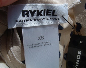 free shipping SONIA RYKIEL XS size never been worn circa 1980 's