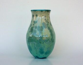 Aqua Flower Vase