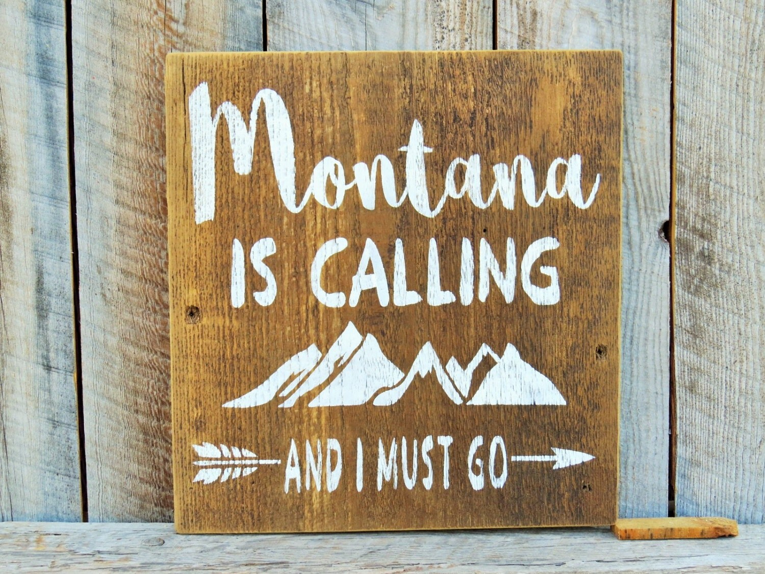 montana is calling and i must go rustic home decor montana
