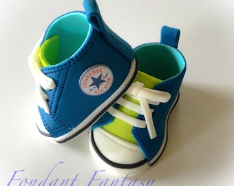 Fondant Baby Sneakers