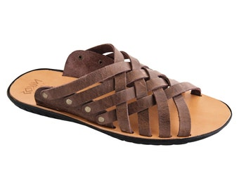 NEW!!! Man Traditional Leather Sandals