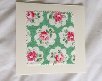Greetings with Cath Kidston fabric
