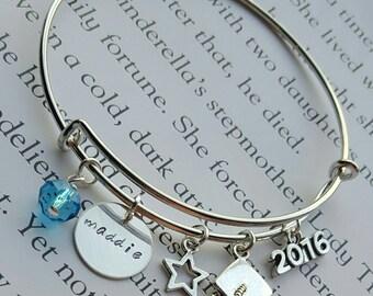 2016 Graduation Personalized Name Bracelet