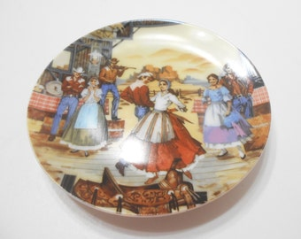 Vintage 1985 Avon American Portraits Plate Collection (12) The Southwest
