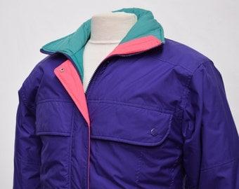 Retro 1980s Ski Jacket