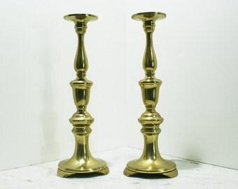 Super Sized Brass Candlesticks