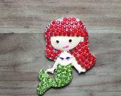 Rhinestone Little Mermaid Ariel Needle Minder
