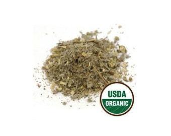 USDA Organic & Kosher Certified Dried Wormwood Herb Artemisia Absinthium 1-16oz