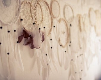 Custom Order for Lauren - Second Part - Wedding Decoration Dream Catchers - 30 piece of Dream Catchers in different sizes