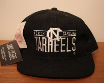Deadstock UNC Snapback Vintage Tarheels officially licensed college university sports athletic headwear north carolina