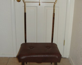 Gentlemen Butler Suit Stand Catch Tray with Seating