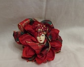 Christmas Princess Hat/Coat Brooch