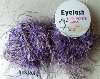 Sale Lavender  38 Eyelash  by Trendsetter Yarns