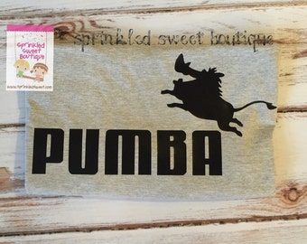 Lion Inspired King Pumba Custom Women Men Kid Child Matching Family Mouse Vacation Trip Shirts