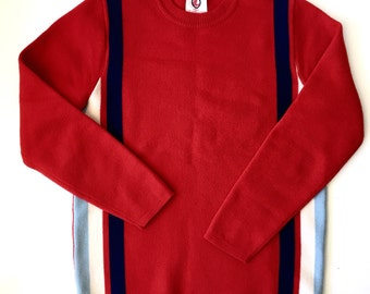 Vintage 1972 Olympic Sweater • Munich • Wool