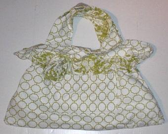 Ruffle Flower Bag