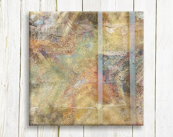 Star abstract Art print on canvas - housewarming gift