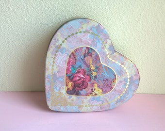 Heart Tin Shabby Chic