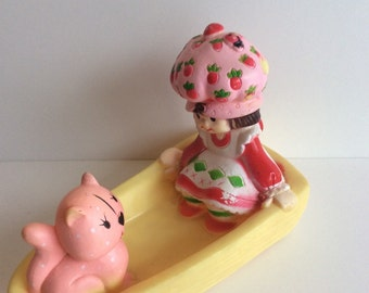 Stawberry Shortcake 1983 vintage tub toy
