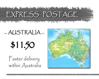EXPRESS Delivery In AUSTRALIA 11.50 • Faster Delivery Time in Australia