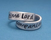 CLEARANCE - SALE - Couple pair of rings - Hand Stamped Rings