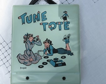 1950's Ponytail Tune Tote Record Holder