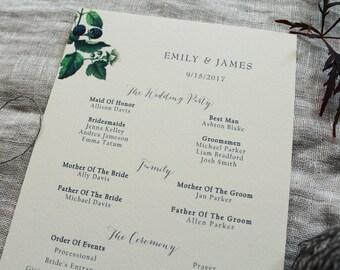 Blackberry Wedding Invitations Botanical Wedding Invitations