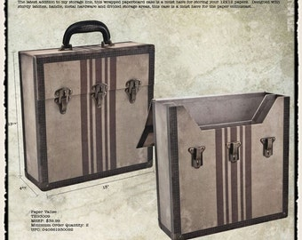 TIM HOLTZ VALISE for 12x12 SCRAPBOOKs PAPERs - Retired  Only a Few Left !  CLEARANCEs