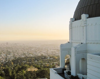 Travel Photography - Los Angeles, California - Griffith Observatory - Fine Art Photograph Print - Home Decor