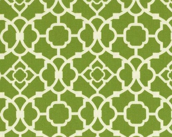 Waverly Lovely Lattice - Green Trellis - Fabric by the Yard