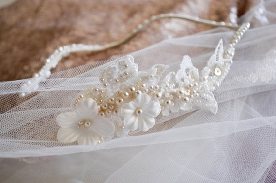 Bridal Headband - Wedding Hairpiece -Hair Jewelry - Sale -