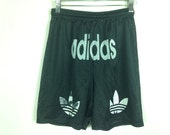 adidas trefoil shorts size S/M