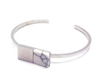 302 Block bracelet (SILVER)