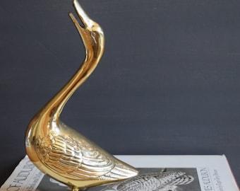 gorgeous brass goose