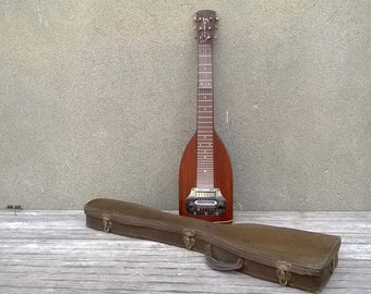 Vintage 1950s Electromouse Lap Steel Guitar with Early Eye Beam Pickup