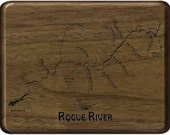 LOWER ROGUE RIVER Map Fly...