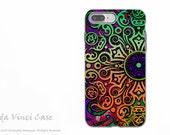 Tribal Mandala Art - Artistic iPhone 7 PLUS - 8 PLUS Tough Case - Dual Layer Protection - Tribal Transcendence