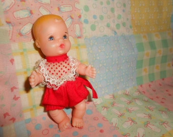 """Vintage Baby Doll 4.5"""" Tall UD. CO. INC."""