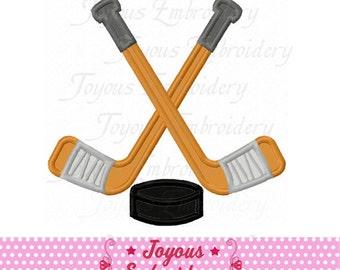 Instant Download Hockey Applique Embroidery Design NO:2110