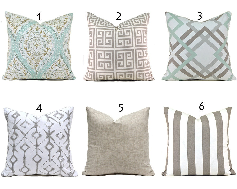 Throw Pillow Cover Measurements : Pillow Covers ANY SIZE Decorative Pillows Pillow Inserts Best