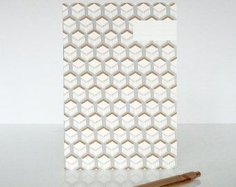 "1 ""Cubes"" notebook - 1 carnet ""Cubes"""