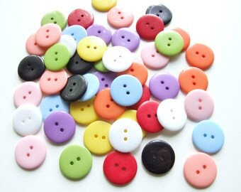 Rainbow All Rounders Button Collection [B0752]