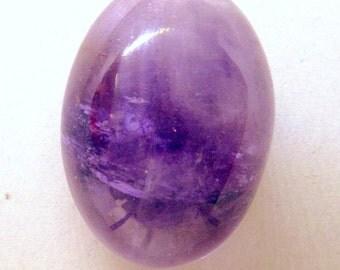 High Domed Light Purple Amethyst Cabochon - February Birthstone - Oval Gemstone Cabochon – Designer Cabochon – for jewelry making