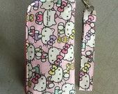 Hello Kitty pink iphone  6 plus , samsung note handphone pouch
