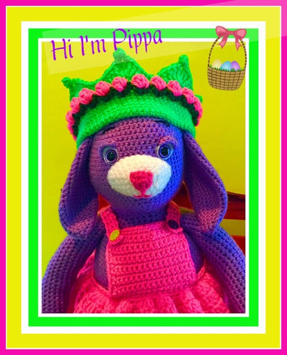 Pippa the Purple Bunny Doll Pattern©