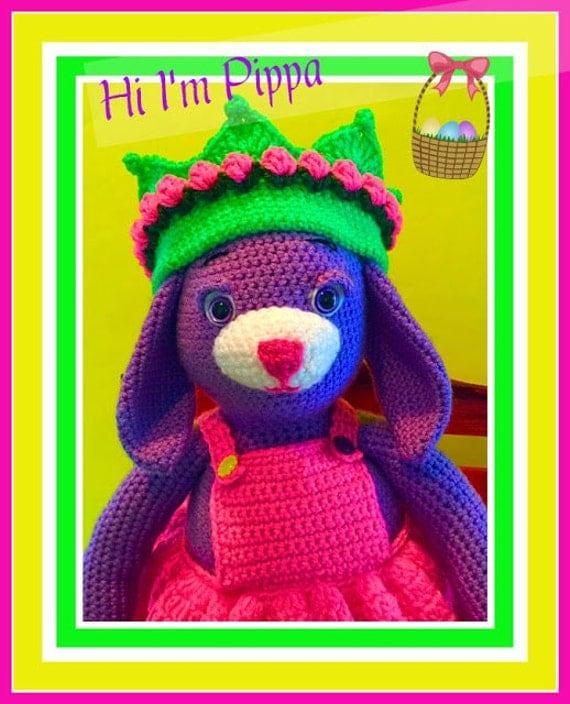Pippa the Purple Bunny Doll Pattern©