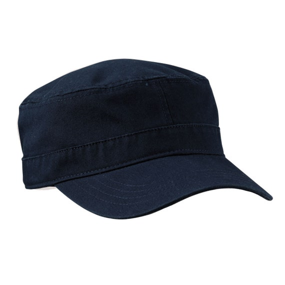 b320e7110cf104 Military Cap (Colors) Custom Military Hats: Custom Embroidery Navy Fidel  Hats Military Shape Cadet